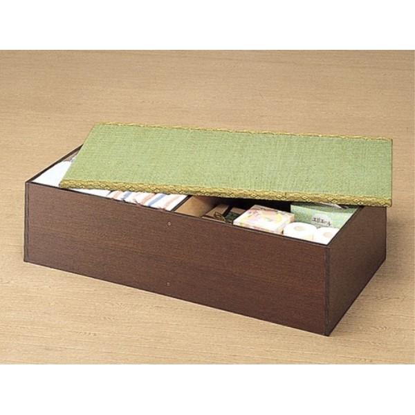 畳ユニット 収納 畳の下は,収納 スペースになっており、荷物もすっぽり 収納 高床式ユニット畳(1畳タイプ)低ホルムアルデヒド・日本製