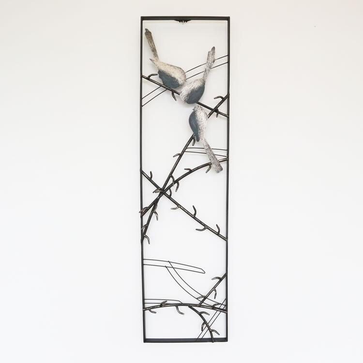ウォールアートパネルA 壁掛け 壁飾り 鳥人気 お得な送料無料 おすすめ 流行 生活 雑貨