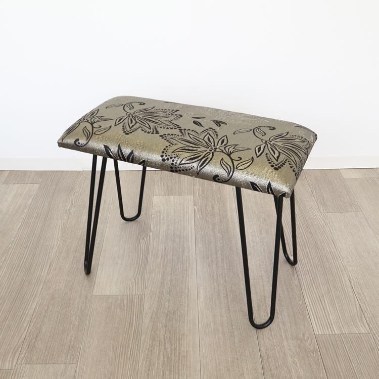 日用品 便利 ユニーク モダンスツール ベンチ 椅子 シルバー&ゴールド