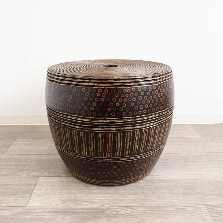流行 生活 雑貨 丈夫素材 ランプテーブル(スツール)