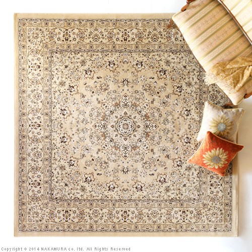 生活関連グッズ イラン製 ウィルトン織りラグ 160x230cm ラグ カーペット じゅうたん グレー