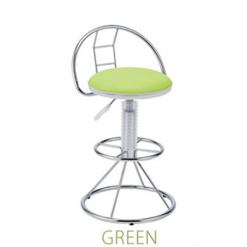 Chair チェアー 合成皮革 スケルトンバーチェア カラー:グリーン