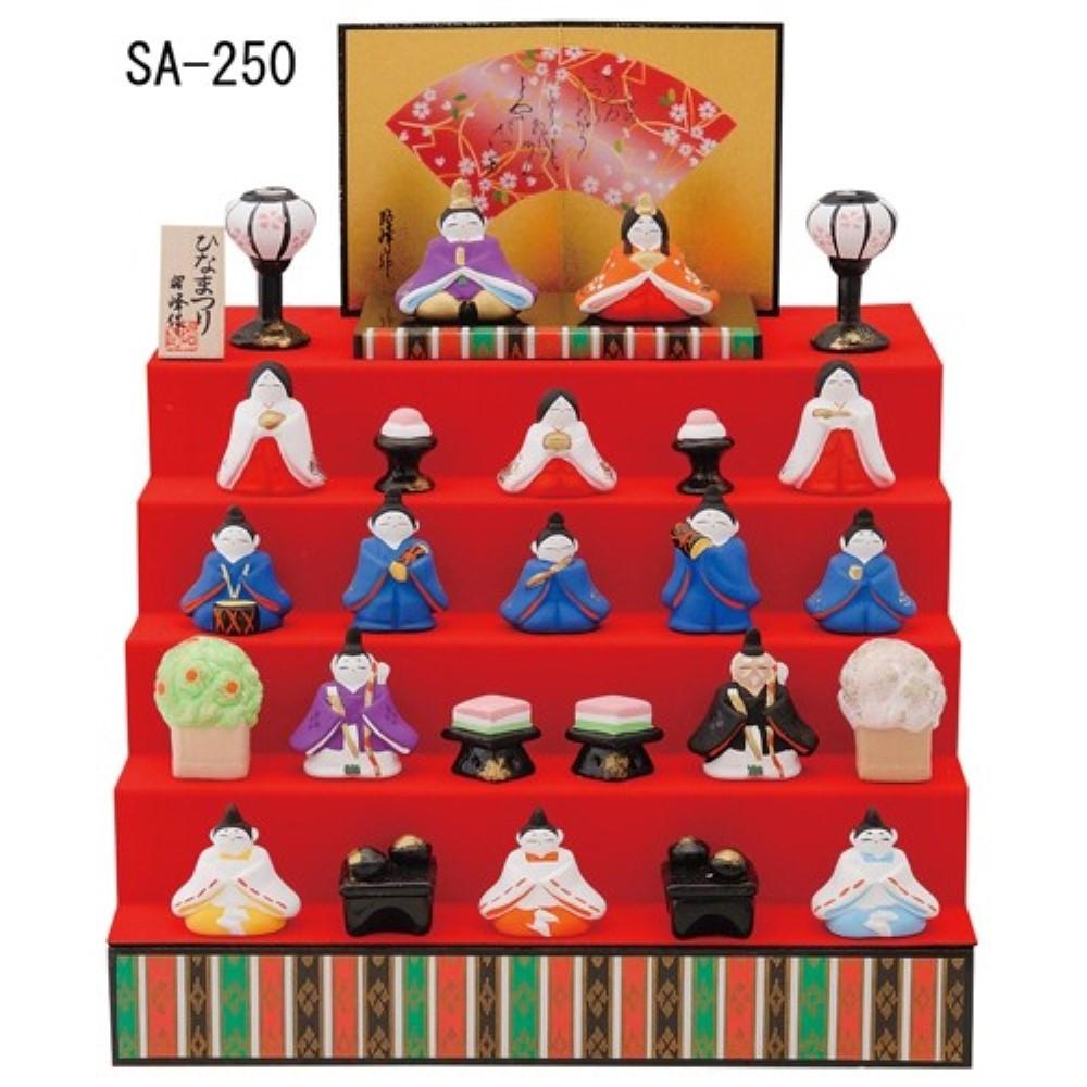 雛人形 平安 五段雛飾り