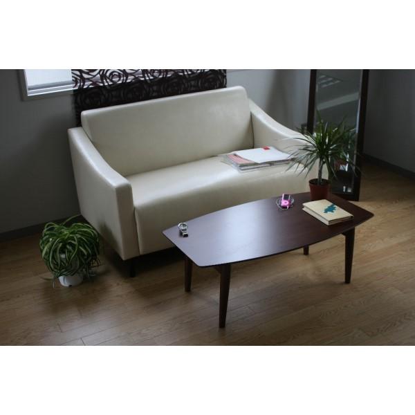 折りたたみ リビング テーブル 高級感ある折りたたみ式テーブル!! インテリア 家具 おしゃれ ナチュラル ローテーブル 北欧風 110cm