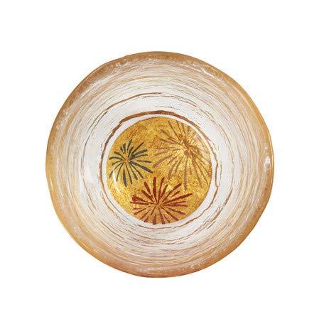 おしゃれな雑貨□日本酒用 グラス 手書き蒔絵 サイズ:5.5×6cm 日用品□
