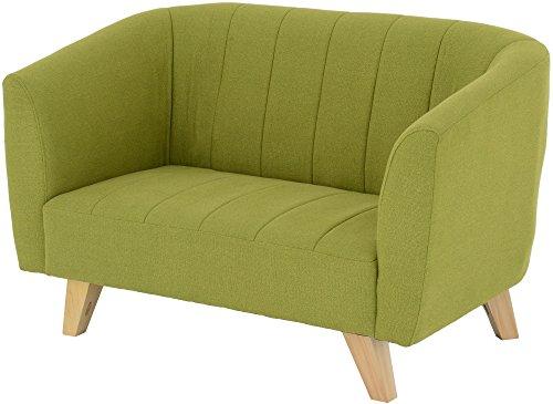 おしゃれな家具 □2Pソファ グリーン BELL 2P GR□ 日用品