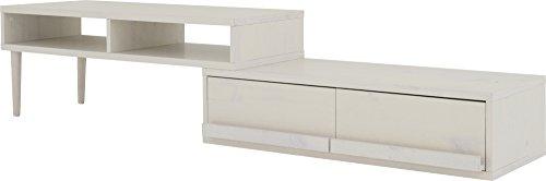 おしゃれな家具 □ローボード ホワイト FX40-105RL WH□ 日用品