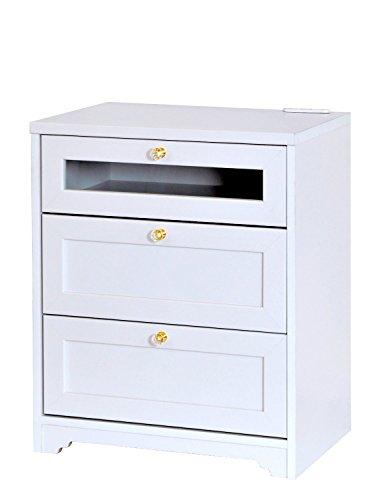 おしゃれな家具 □ミドルボード ホワイト AN70-60B□ 日用品
