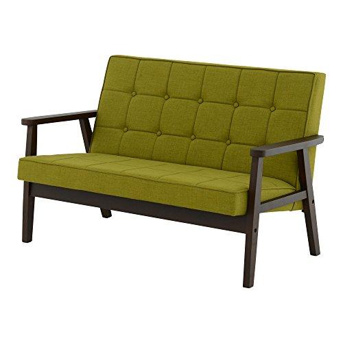 おしゃれな家具 □ソファ グリーン CS120GR FB DBR□ 日用品