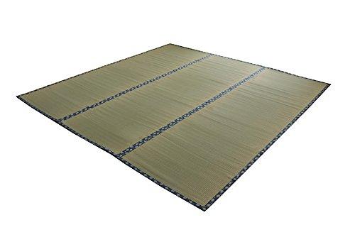 おしゃれなインテリア □い草 上敷き カーペット 3畳 国産 双目織  江戸間3畳 (約176×261cm)□ 日用品