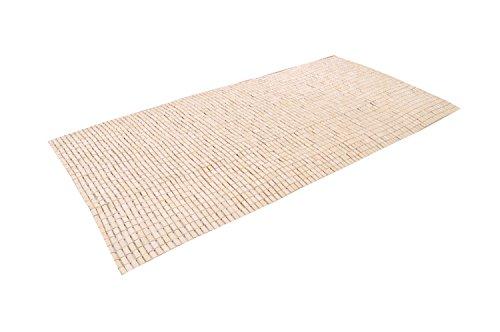 おしゃれなインテリア □竹シーツ 竹駒シーツ セミシングル 髪の毛がひっかかりにくい  約90×180cm□ 日用品