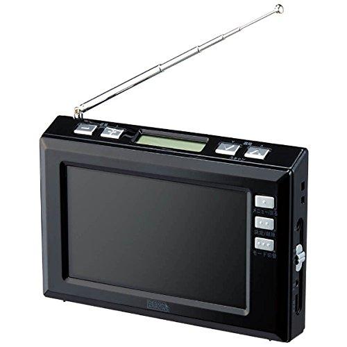 便利な生活雑貨 □4.3インチワンセグTV ブラック・TV03BK□ 日用品