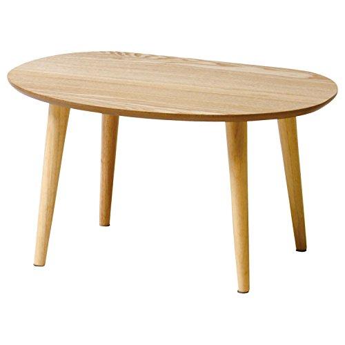 おしゃれなインテリア □ローテーブル ティーナ 幅60cm ナチュラル色 TINA-LT600(NA)□ 日用品