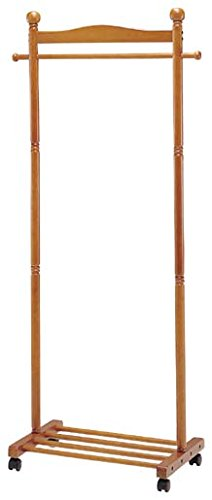 おしゃれなインテリア □木製パーソナルハンガー WH22□ 日用品