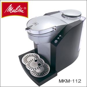 便利雑貨 Melitta(メリタ) コーヒー ポッドマシーン MKM-112-B ブラック