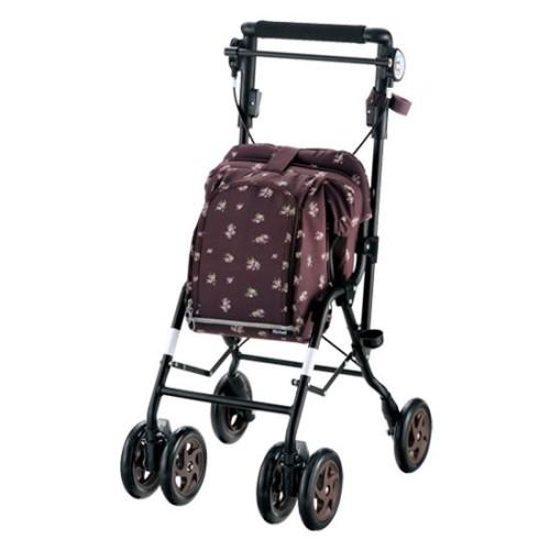 シルバーカート コンパクト なのに、欲しい機能が満載 便利な アルキュート ローズ(RO)