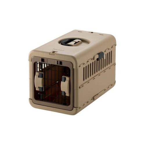 ペットキャリー バッグ  超小型犬・猫用 人気商品 キャンピングキャリー 折りたたみ S ブラウン(BR)