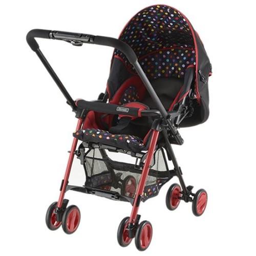 ベビーカー ベビー用品 両対面 ベビーカー でママも赤ちゃんも安心! ベビー用品 サンパ レッド(R)