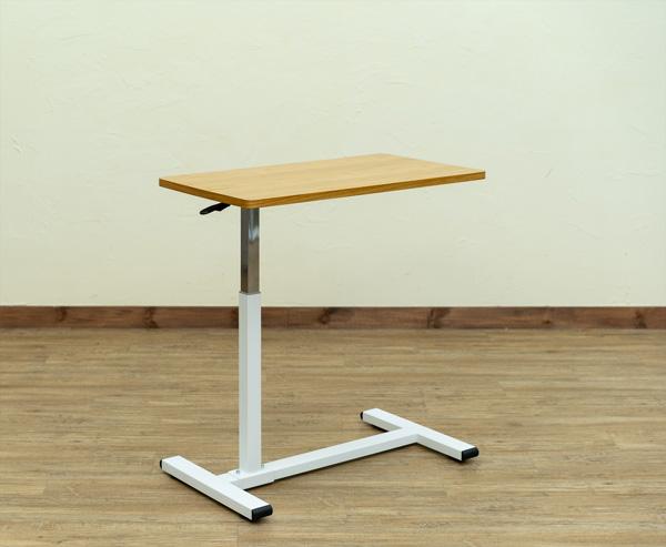 Boley 昇降式サイドテーブル ナチュラル ベッド ソファ サブ 簡易