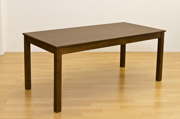フリーテーブル 165×80 ダークブラウン ダイニング 木製