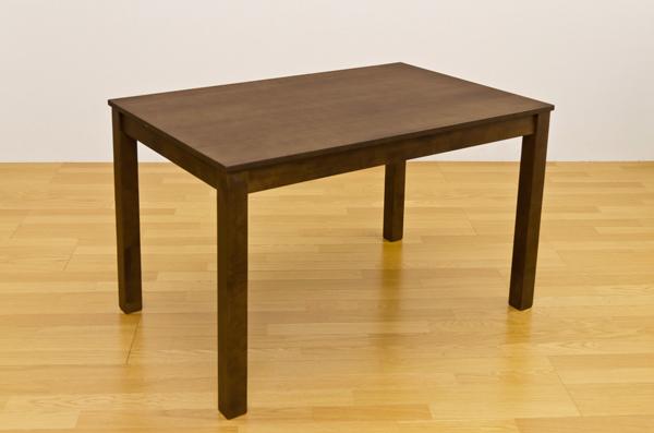 フリーテーブル 115×75 ダークブラウン ダイニング 木製