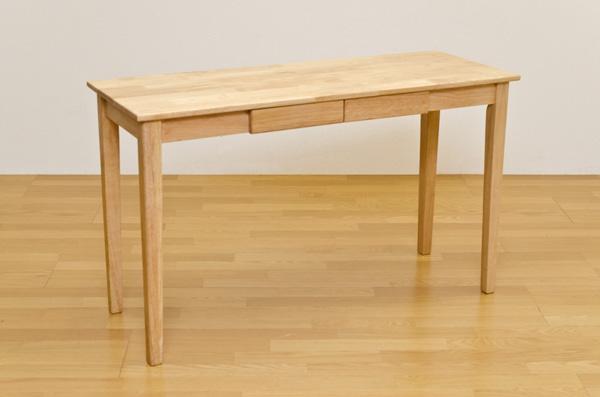 木製テーブル 120×45 ナチュラル デスク 机 木製
