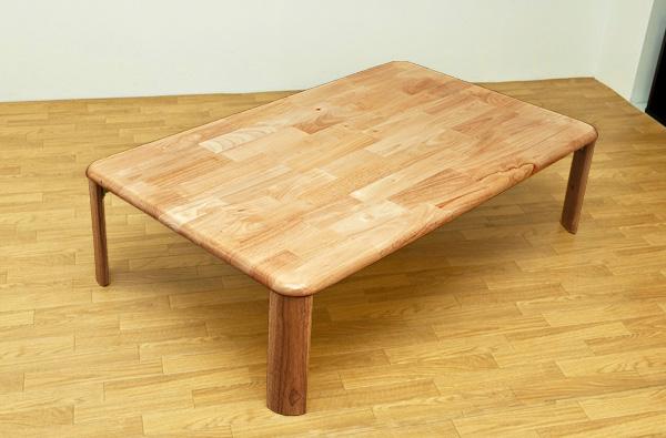 NEWウッディーテーブル 120 ナチュラル 折りたたみ ローテーブル 木製