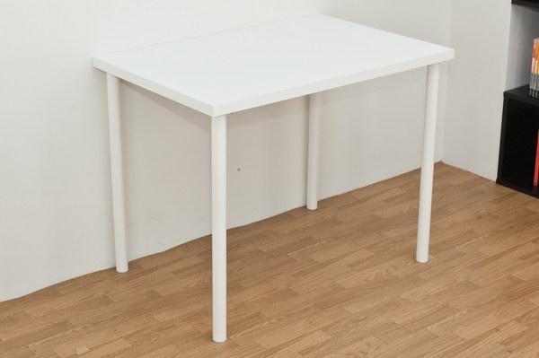 フリーテーブル 90幅 奥行き60 ホワイト フリーテーブル ハイタイプ 専用テーブル90センチ