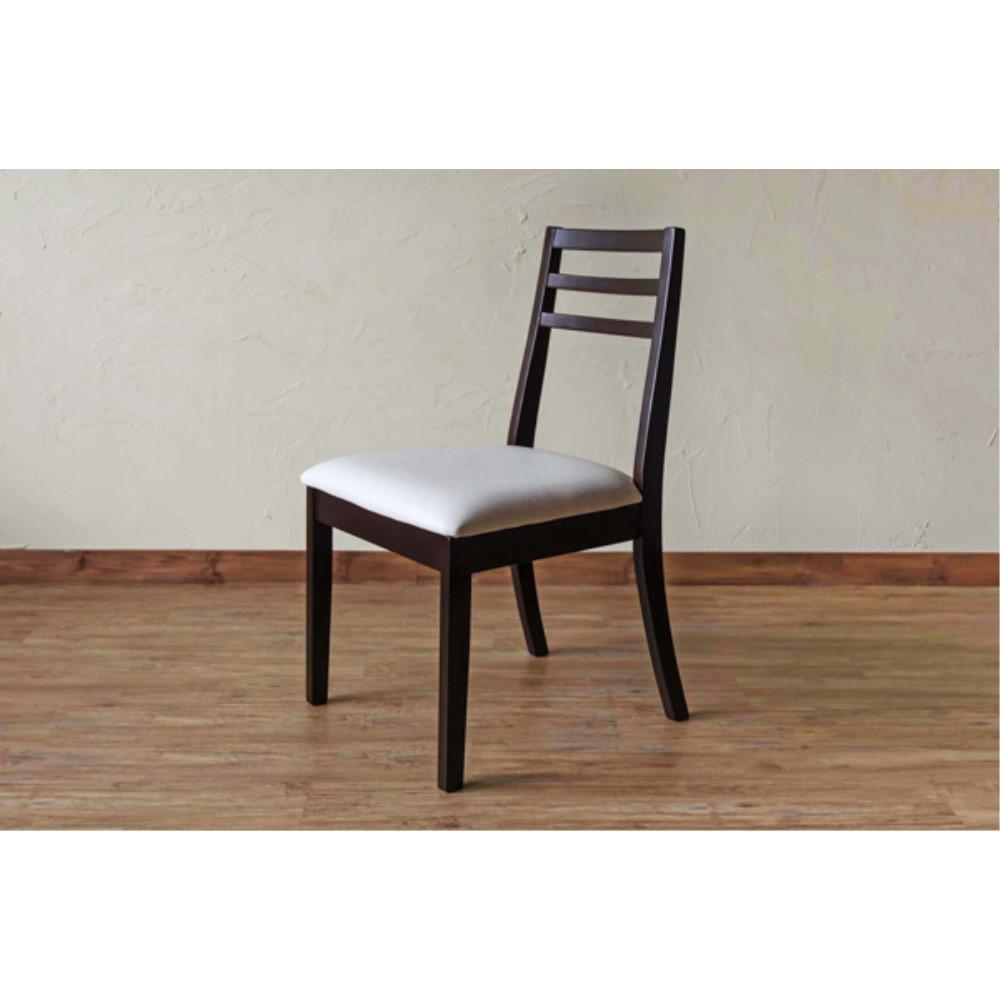 キッチン Chair 椅子 モダンダイニングチェア 2脚入り カラー:ウェンジ