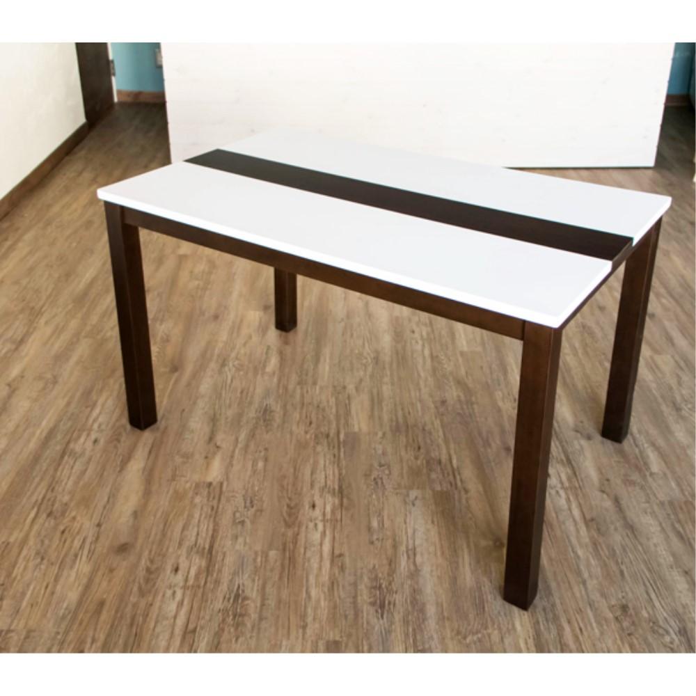 キッチン テーブル ポリウレタン塗装仕上げ ハイグロスダイニングテーブル 120×75cm