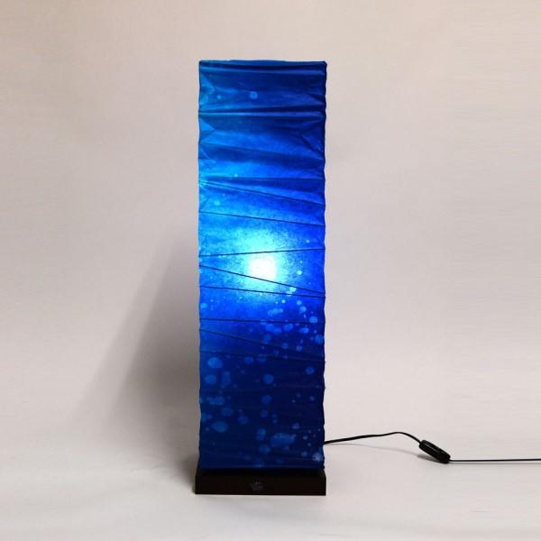 フロアースタンド ソファの横やテレビボードのサイドにおすすめ 伝統工芸 お洒落 和風照明 フロアライト 深海