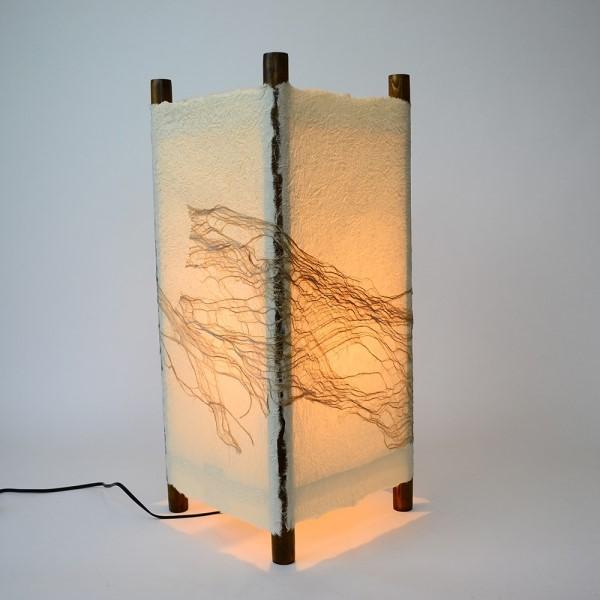 フロア スタンドライト 木のぬくもりと和紙のぬくもりが同時に楽しめる 和風 天井照明 和風照明スタンド 行灯タイプ 楮入り