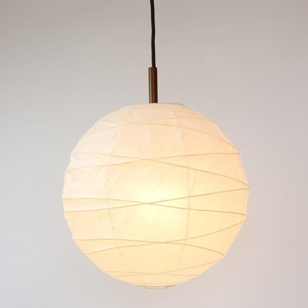 和風照明 ペンダント 古き良き和を感じさせる提灯 提灯 レトロ あかり ぼんぼり 和風照明 丸型ペンダントライト 48cm 2灯タイプ