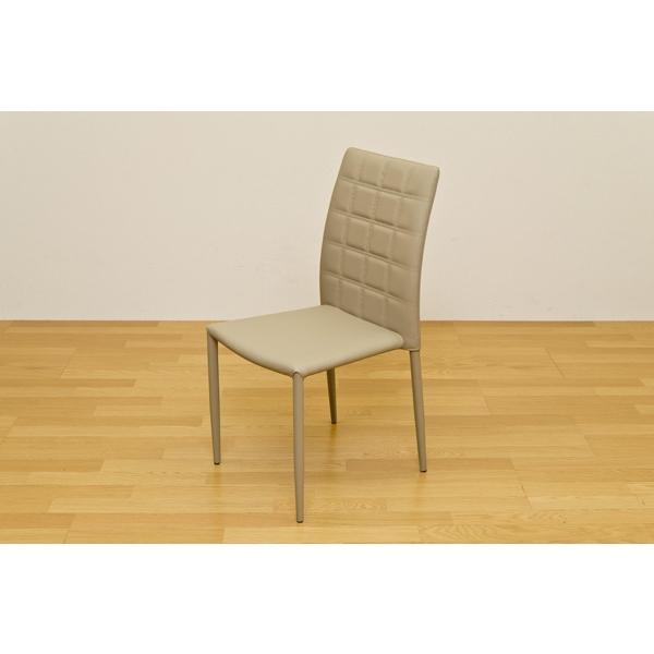 ダイニングチェア ソフトレザー スタッキング 食卓椅子 チェアー イス 2脚セット ブラック