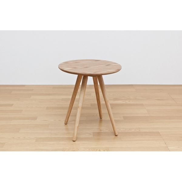 サイドテーブル BAGLE 丸型テーブル カフェテーブル テーブル 45φ ウォールナット