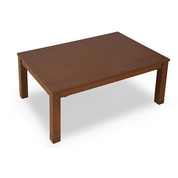 リビングコタツ こたつテーブル こたつ 継ぎ足 消臭機能付きこたつテーブル!105x75cm ブラウン