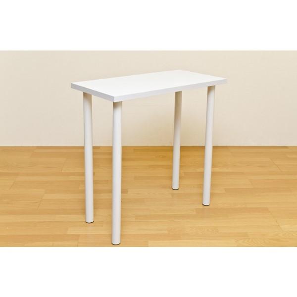 机 バーテーブル 利用方法は多様 便利商品 フリーバーテーブル 90×45 ホワイト