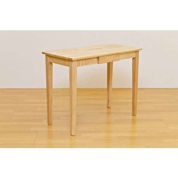木製テーブル 北欧 シンプルだから何にでも使える 素敵な 暮らし 木製テーブル 90×45cm ナチュラル