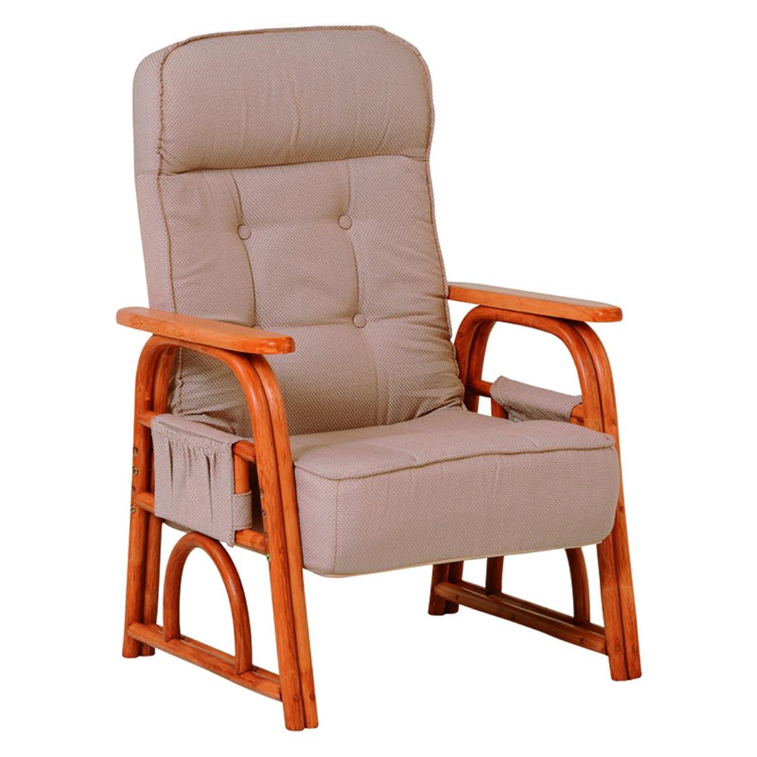 「送料無料」インテリア家具 ギア付き座椅子 ソファ 一人掛け 椅子 チェア チェアー
