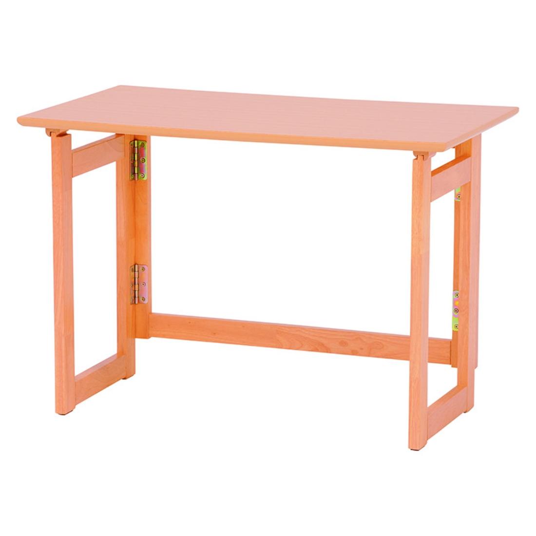送料無料 オシャレ 家具 木製 折りたたみ デスク 折り畳み 机 折畳 テーブル