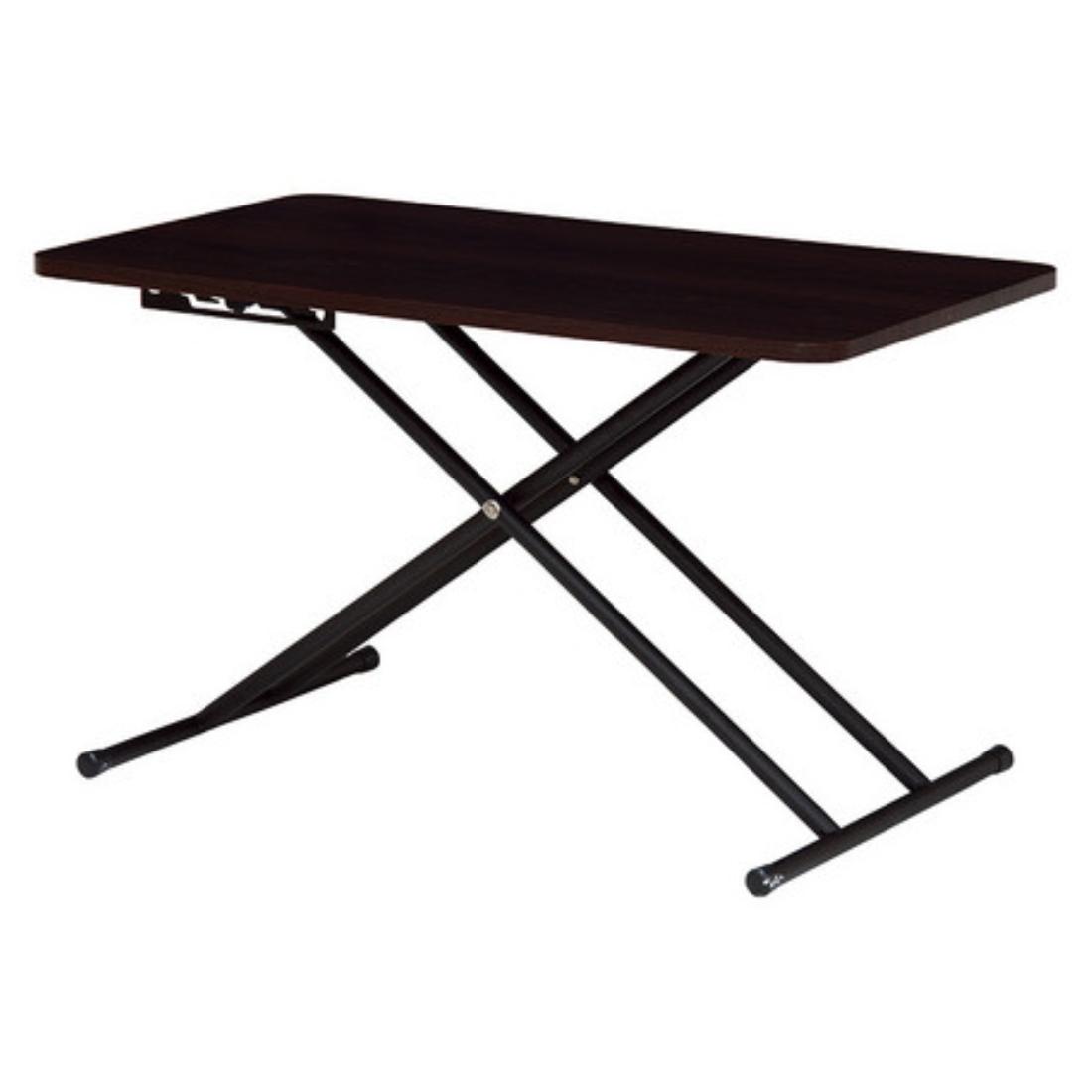 送料無料 家具 リフティングテーブル 折れ脚 テーブル 机