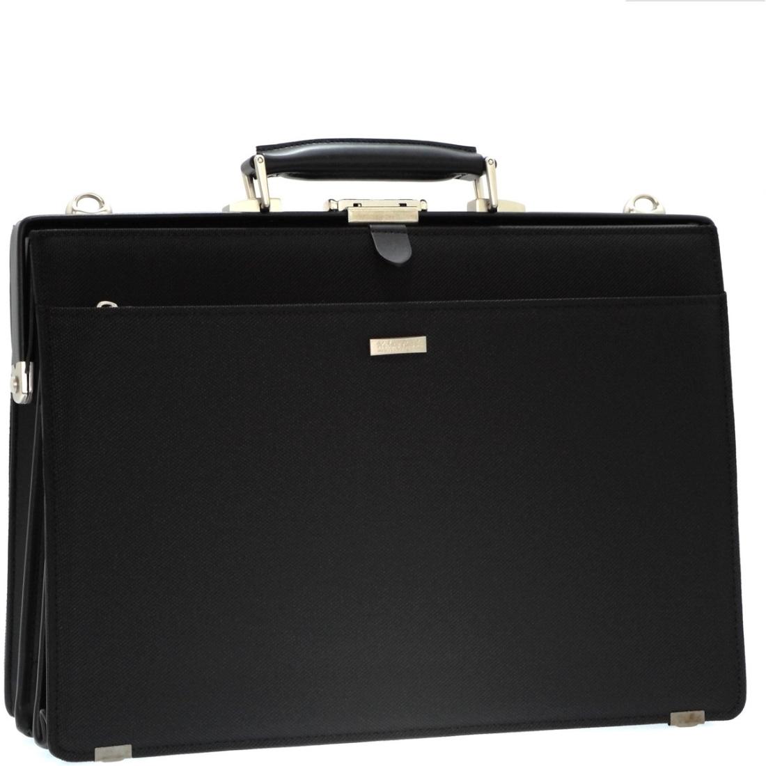 ナイロンダレスバッグ ブラック ビジネス 仕事 バッグ 日本製日本 革 鞄 ダレス バッグ 本革 付属