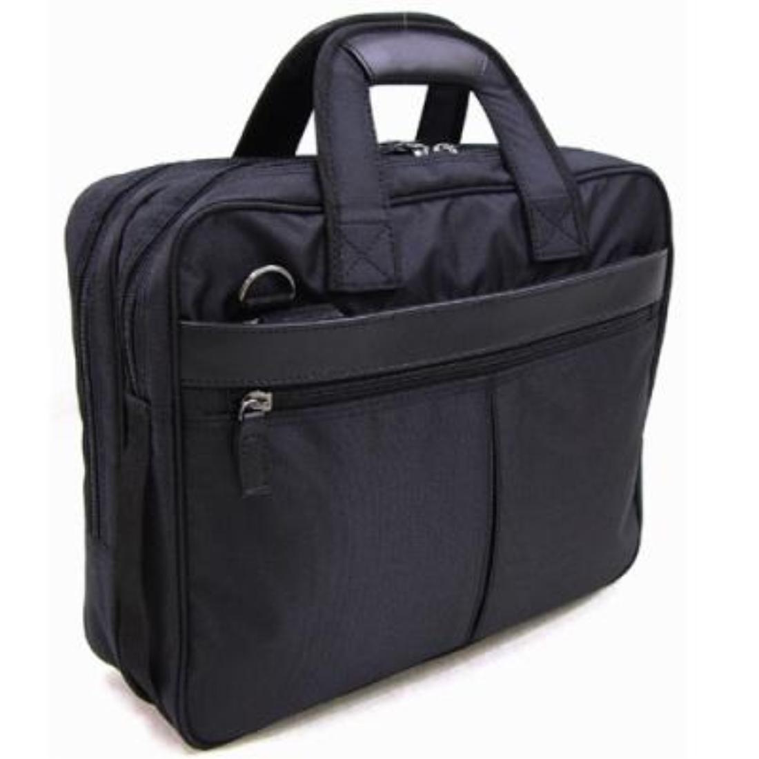 おしゃれ デザイン バッグ 鞄 革 ビジネス 通勤カバン 通勤 カジュアル 本革 付属 軽量軽量撥水ナイロン ビジネスバッグ ブラック