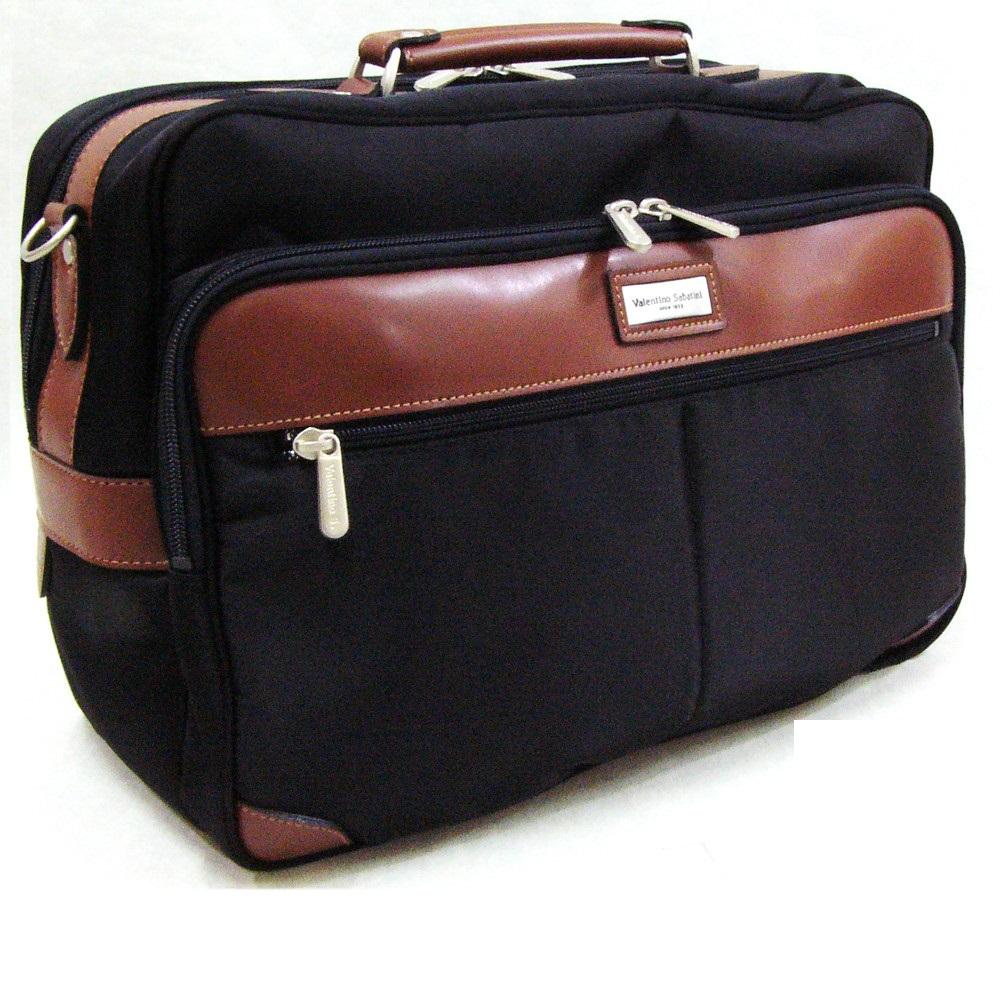 おしゃれ デザイン 日本 ショルダー バッグ ナイロン 合成皮革ヴァレンチノ・サバティーニ ナイロン横型ショルダーバッグ 国産