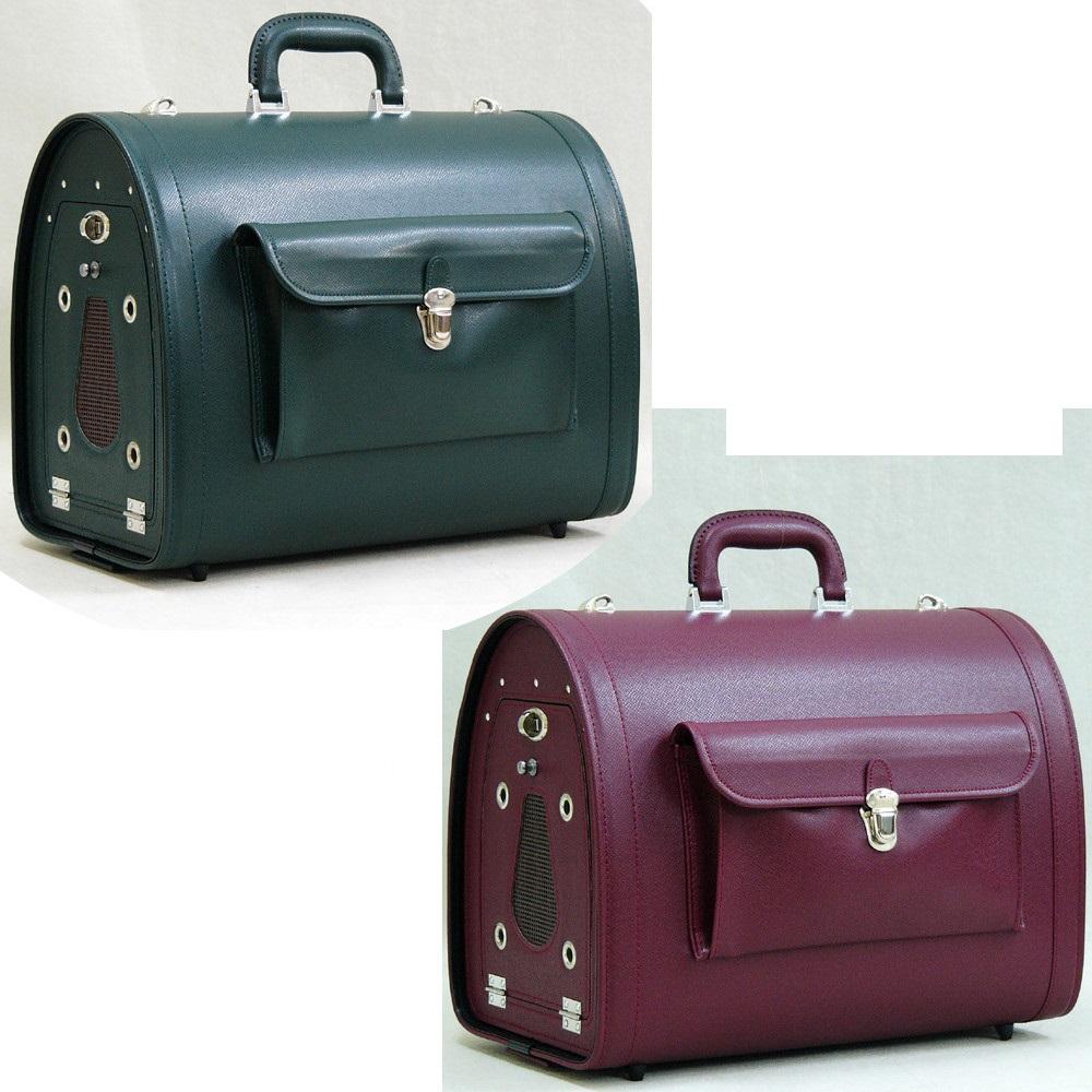 おしゃれ デザイン 日本 キャリー ドッグ 鞄 トラベル ドッグ キャリードッグキャリー小型犬用 グリーン