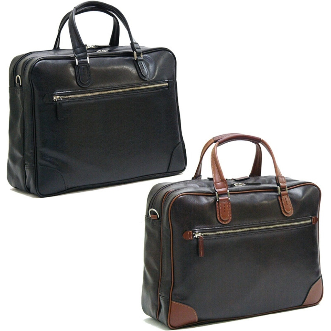V.S.Wマチビジネス 仕事 バグ チョコ 日本製日本 ビジネス 仕事 バッグ 鞄 付属/本革