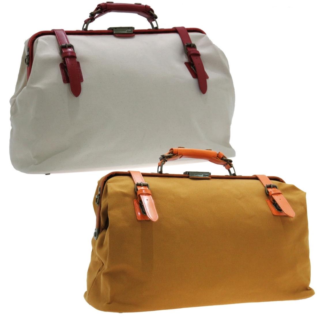 帆布ダレスボストンバッグ大 旅行 トラベルボストンバッグ キャメル 日本製鞄 ボストン 大 トラベル バッグ