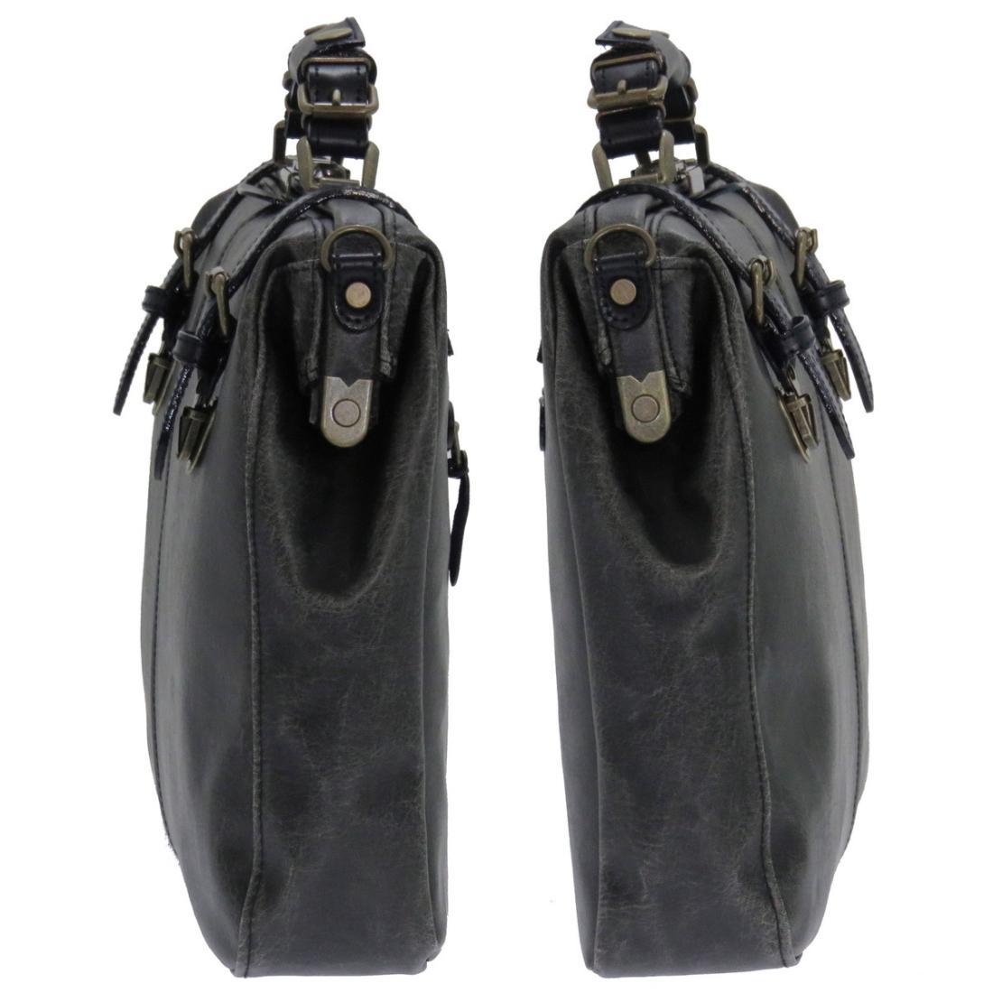 おしゃれ デザイン 日本 革 ビジネス 通勤カバン 通勤 バッグ 鞄レトロダレスビジネスバッグ ブラック 日本製hrCsdQt