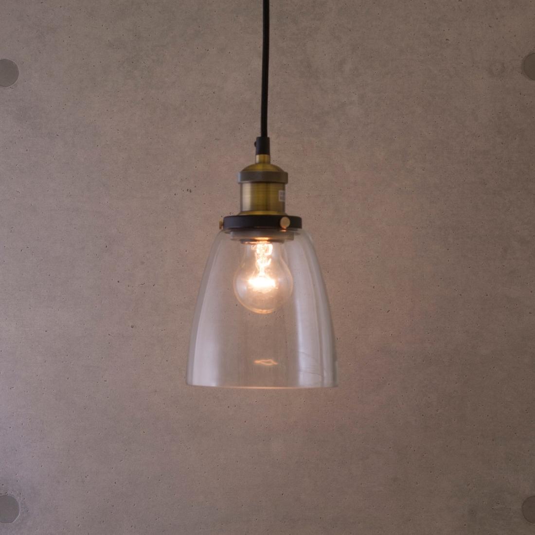 部屋 おしゃれ レトロ 家具 【吊照明】ヴィンテージペンダントランプ[P144]LED対応<E26/梨型>天井照明 吊り 照明