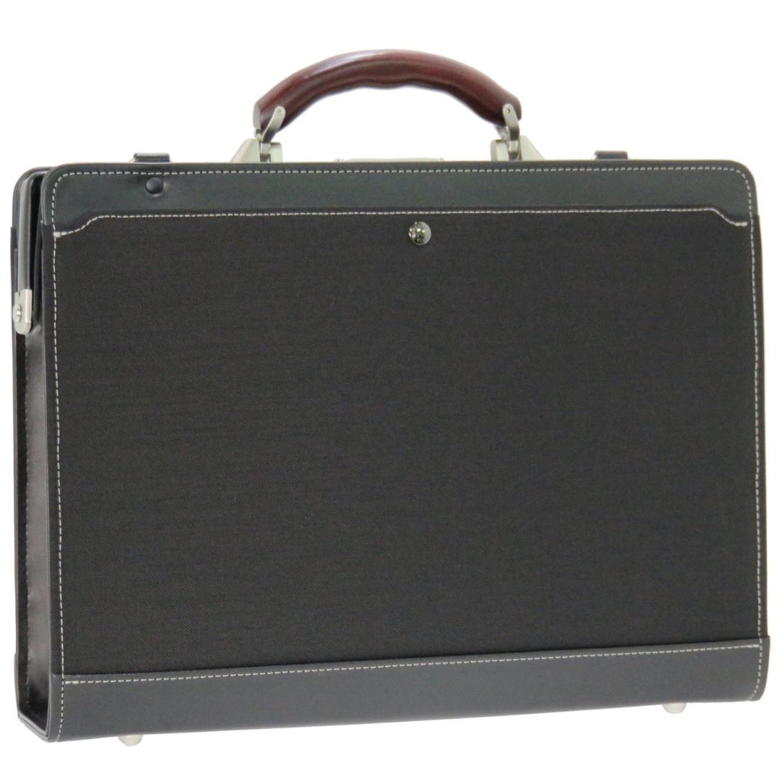 おしゃれ デザイン 日本 ビジネス 通勤カバン 通勤 バッグ 木 鞄木手ダレスビジネスバッグ ブラック 日本製